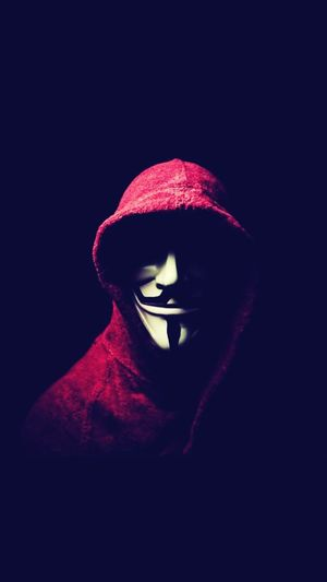 Know, you see it. Anonymous Photo Bestphoto Hackers Men In Red Shirt Black Background Portrait Human Eye Human Face Red Women Headshot Dark First Eyeem Photo