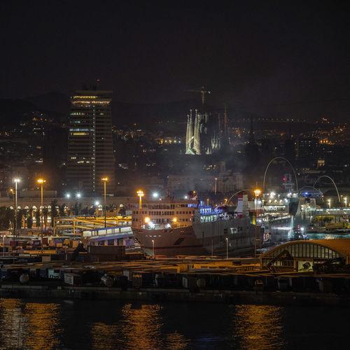 Blick vom Hafen