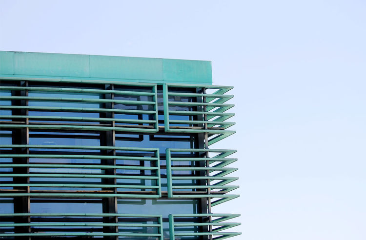 Architecture_collection Combination Of Colors Architectural Detail Building Building Exterior Built Structure Close-up Glass - Material Sky Steel Construction
