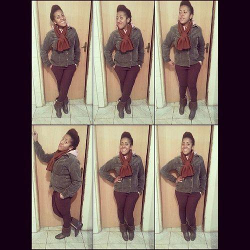 Looktonight Lookforxhurch Amazinggirl Swag swaggirl beauty brown happiness beautifulgirl topgirl boots smile style urbanatyle underground likeit blackwoman blackgirl partiu Casa do Senhor :)