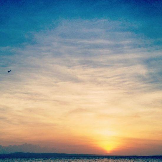 Sunrise Enjoying Life Taking Photos