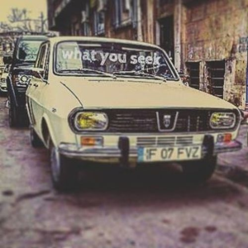 Isseekingyou Oldschool Automobile Dacia Madeinro Romania Pitesti UAP 1300 Vintage Instaday Instapic Instacar Instacool Today Drivinginbucharest