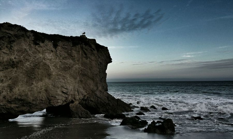 The KIOMI Collection EyeEm Nature Lover Landscape Sea And Sky Beach Nature Sunset Dusk Clouds And Sky Silhouette California Seascape No People The Great Outdoors - 2016 EyeEm Awards