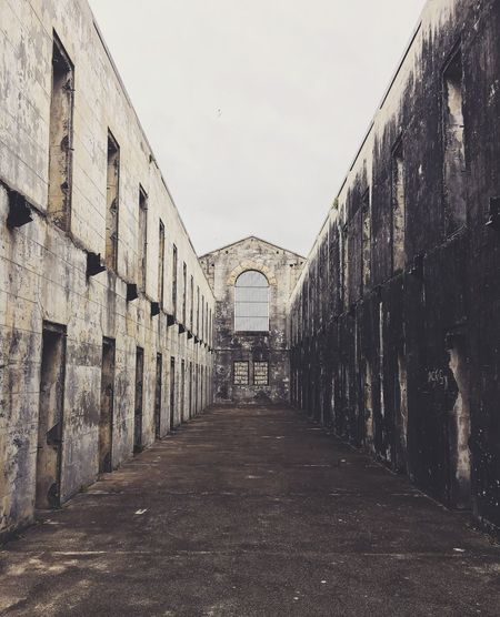 Gaol Jail Trail Bay Ancient Artefact Prison Prisoners Ancient Outdoors Rainy Day