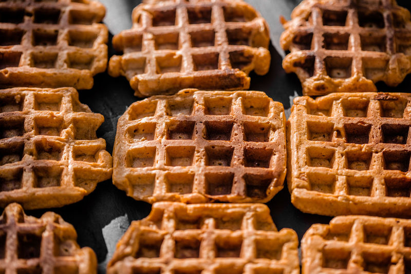 I baked sweet potatoes waffles! yummy!!! Baked Baked Goods Blur Brown Close-up Dessert Food Foodporn Homemade Homemade Food Light And Shadow Pattern Pattern, Texture, Shape And Form Patterns & Textures Ready-to-eat Surface Structure Surfaces And Textures Sweet Food Sweet Potatoes Waffles Textures And Surfaces Waffeln Waffle Waffle Time Waffles