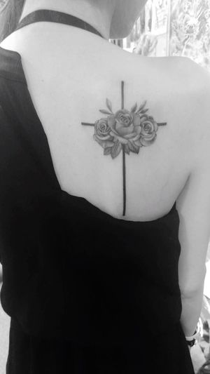 The other things done in my life Tattoo Cross Rosé