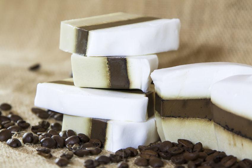 Handmade coffee soap / Кофейное мыло ручной работы Soap Handmade Soap Coffee Soap Body Treatment мыло Latte Мыло ручной работы кофейное мыло косметика латте