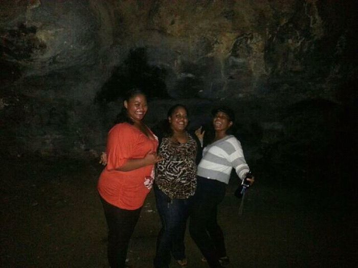 Patehin With Theese Fools! Shit They Was Getting More Action Then Me! Lol Makua Cave