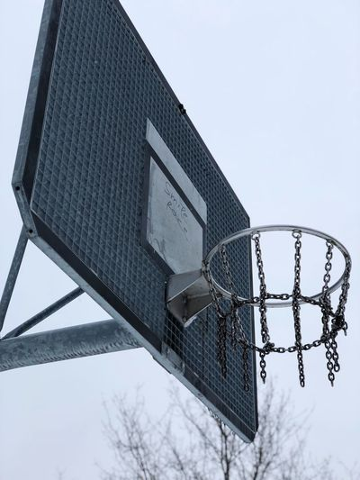slam dunk Childhood Streetphotography Street Views Abandoned Dust Metallic Tags Graffiti Movement Fun Action Frozen Sports Low Angle View Basketball Hoop Architecture Sky Outdoors No People Basketball - Sport