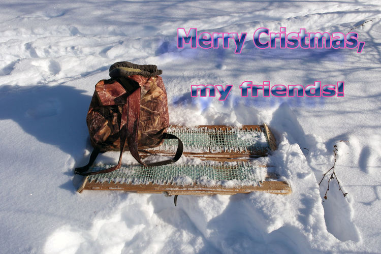 Merry Cristmas Cold Temperature Day Merry Cristmas! No People Outdoors Snow Text Traces On Snow Winter