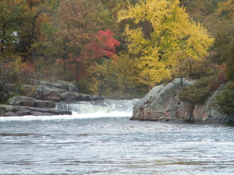 Fall colors Autumn Beauty In Nature No People River Scenery Tranquility Water Waterfall
