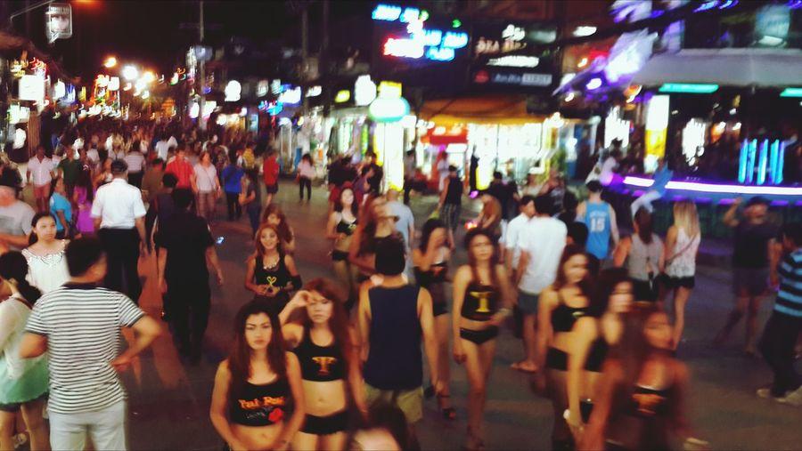 Phuket,Thailand Bangla Road Enjoyinglife
