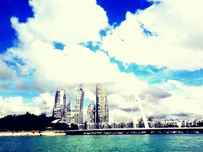 otw to Batam:) first take. { R E F L E C T I O N S } Singapore