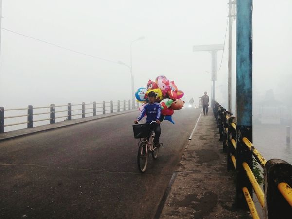 Foggy Morning Foggymorning South Borneo The Places I've Been Today Banjarmasin Indonesian Street (Mobile) Photographie Indonesia Culture EyeEm Indonesia