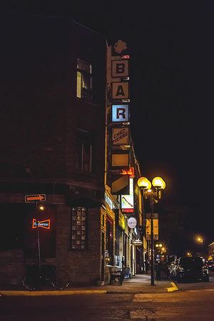 Bar Night Shots  Lowlight City Lights Warm Light