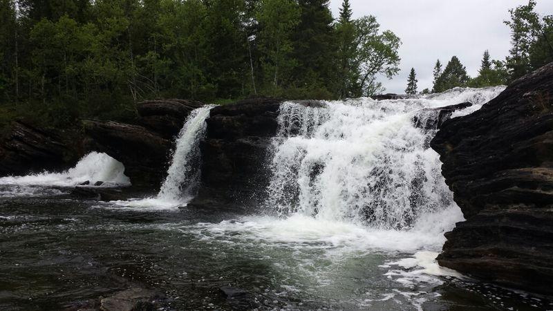 Skärkdalen Water Waterfall Nature