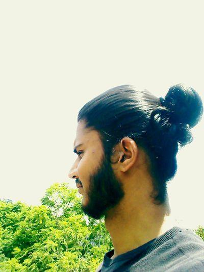 Long hair love.!! Manbun
