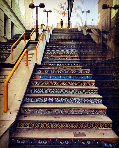 Day Iran♥ Stairway Steps Streetphotography Valiasr Street First Eyeem Photo