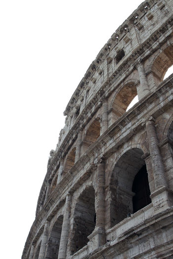 Amphitheater Ancient Ancient Civilization Ancient History Arch Archaeology Architectural Column Architecture Arts Culture And Entertainment Building Exterior Built Structure Clear Sky Colosseum Copy Space History Low Angle View Nature No People Old Ruin Ruined Sky The Past Tourism Travel Travel Destinations