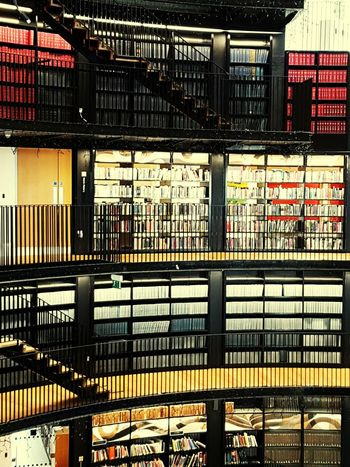 Library Book Library Books Book Staircase Shelves Reading Birmingham Library Birmingham Birmingham UK