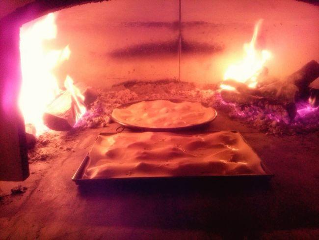 Focaccia Al Formaggio Forno A Legna Wood Oven Cheese Italian Pizza Bread Food Preparation  Indoors  Heat - Temperature Kitchen No People Food Stories