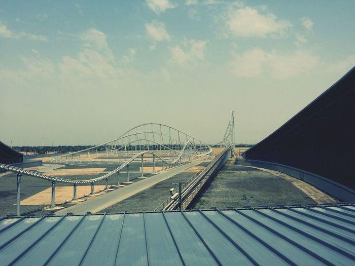 ?? Rollee Coaster Ferrari World Abu Dhabi Fastest Roller Coaster In The World❕