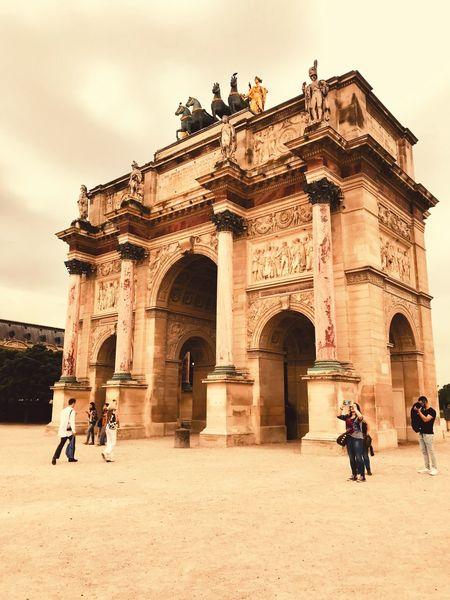 Architecture Lovre Day Trip Paris