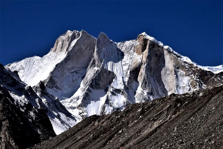 Mount meru, himalayas, uttarakhand, india