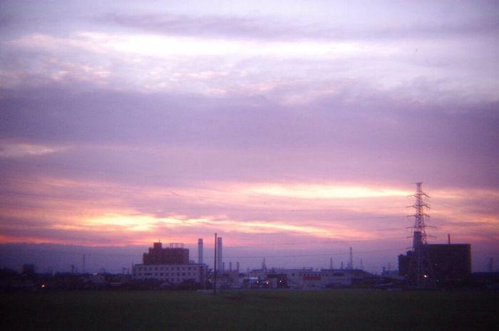 おつかれさま。 Pentax K-3 Pinhole Lens Twilight Afterglow Sunset