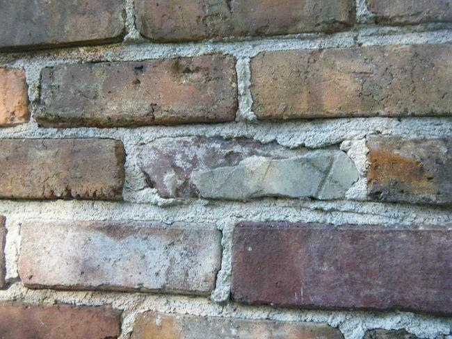 Brick Wall Cracks Lines Red Brown Bricks Brick Wall