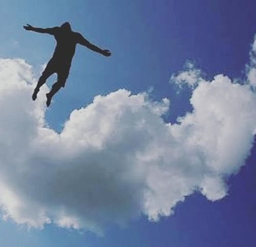 I Believe I Can Fly Picoftheday Power OfDream Cloud MyEditing on Picsart Editingapps Loveit