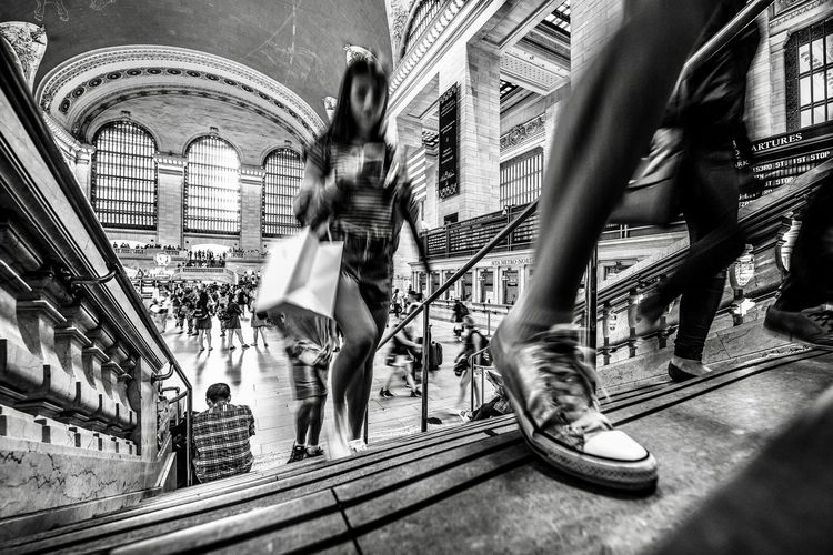 The Shoe EyeEmbestshots EyeEm Best Shots - Black + White EyeEmNewHere EyeEm Best Shots Station Real People Architecture Women Built Structure Lifestyles Day People Walking City Creativity Art And Craft Representation Leisure Activity Group Of People Standing Indoors  City Life The Art Of Street Photography My Best Photo