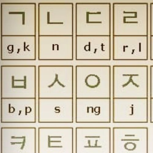ke hirap naman ih! Korean Consonants Learning Annyeong ⓚⓞⓡⓔⓐ