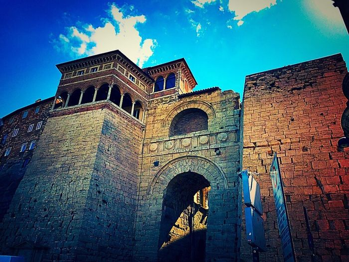 People Built Structure Low Angle View Place Of Worship Architecture Building Exterior Religion Arch History Travel Destinations Day Spirituality No People Sky Outdoors