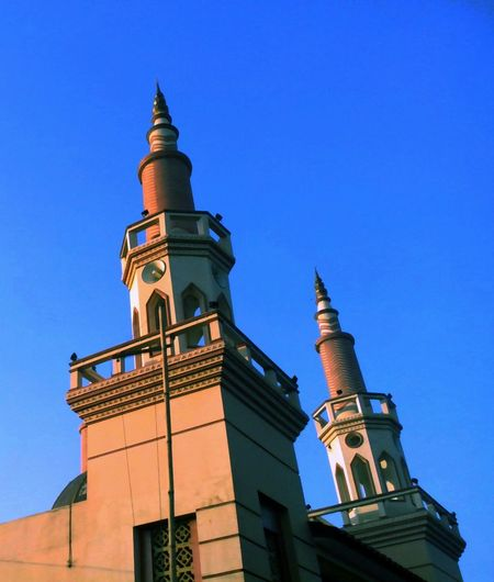 Mosque Blue Sky Thaking Photos Architecture_collection Indonesian_allshots EyeEm Best Shots Minimalist Pekalongan