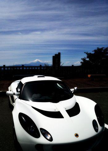 伊豆スカイラインで富士山と。 Mtfuji Exige Car