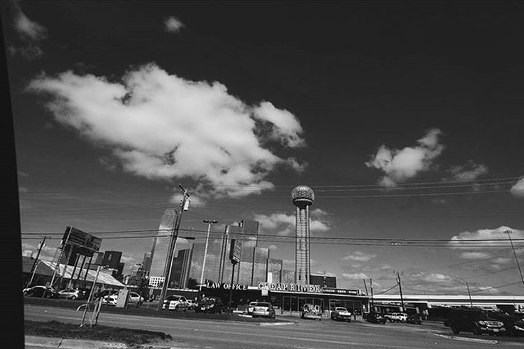 Dallas. Cloudz. DFW Dallas Reuniontower Dallastowers DFW Visuals DownTownDallas VSCO Vscocam Vscogram Citylife Vscoteam Citygram Grayscale Blackandwhite Clouds Cloudgram Instaclouds Instadallas Vibes Mycity Canon Canon70d 70d Vscoapp 1022 canonlens wideanglelens