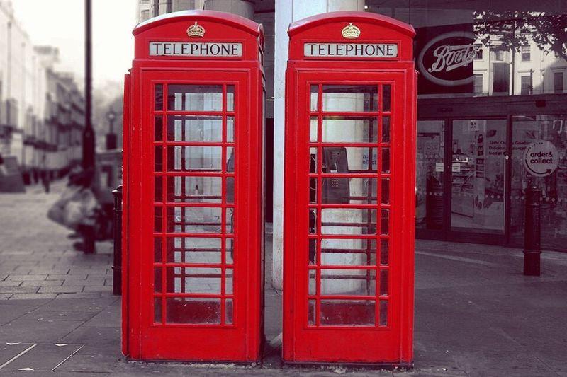 Payphone Telephone Booth Uk LONDON❤ Leisure Activity Beautifully Organized No People City Communication Indoors