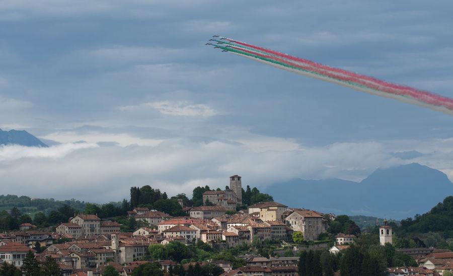 Flying Frecce Tricolori Feltre Airshow