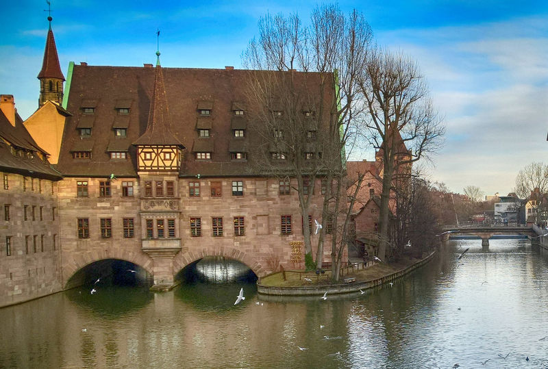 Amazing Architecture Building Exterior Built Structure Canal City City Colorful Composition In Orange And Yellow Exposure Experimentation Focus On Foreground Germany Goodtimes With Goodpeople HDR Hdrphotography No People Outdoors Outdoors Photograpghy  Photooftheday Reflection Sky Travel Destinations Urban Water Waterfront