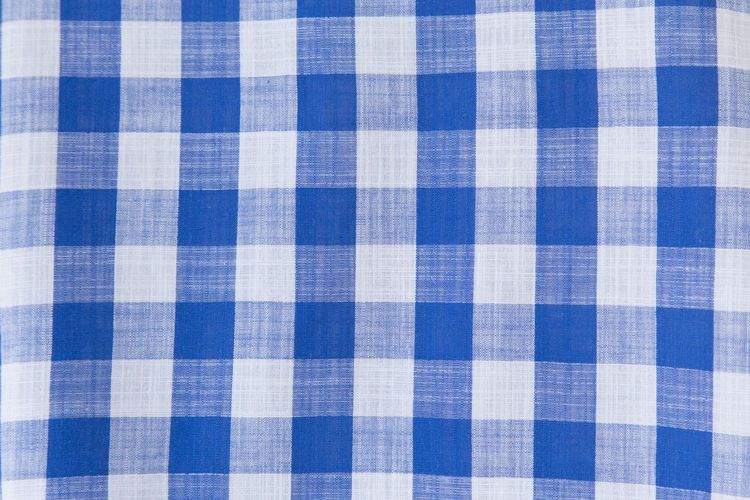 Plaid Shirt  Abstract Arts Culture And Entertainment Backgrounds Blue Blue Fabric Blue Sky Blue Sleeved Checked Pattern Close-up Cotton Flat Full Frame Indoors  No People Pattern Plaid Purity Retro Styled Shape Striped Tablecloth Textile Textured  Textured Effect