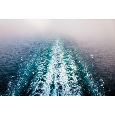Foggy Wake Travel Pugetsound Ocean Sea picoftheday photooftheday