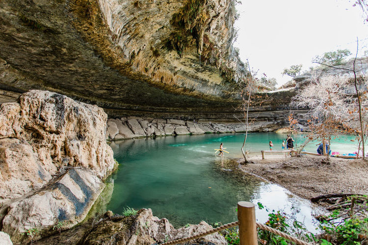 Hamilton Pool Cave Grotto