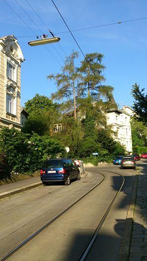 Mai 2014 Straßenbahn Schönes Wetter Street