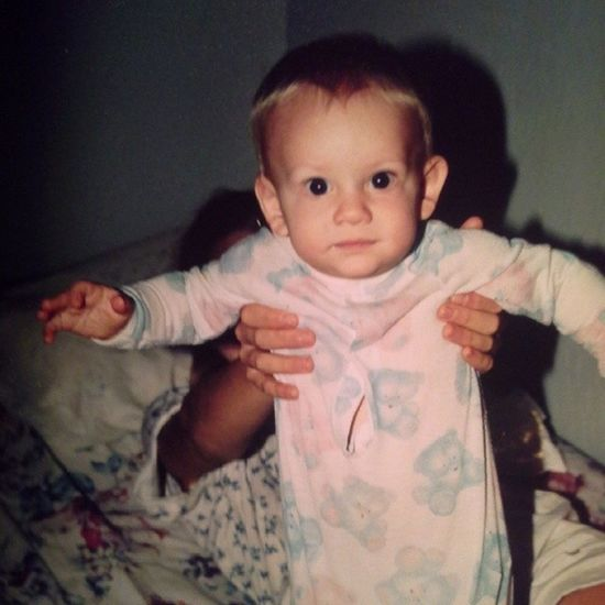 Baby me:). Oldphoto Happybaby Loveinlife Notacare