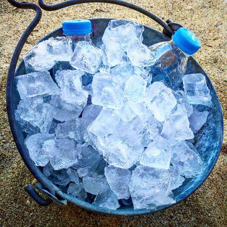 Ice Ice Bucket Water
