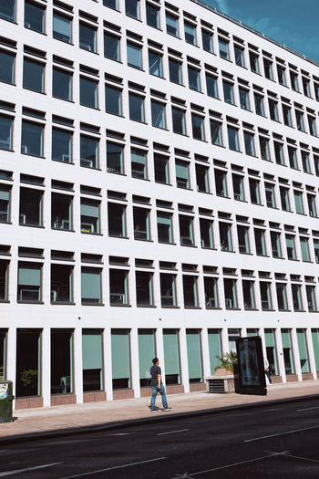 Grids Full Length Architecture Building Exterior Sky Built Structure Residential Structure Office Building Exterior Neighborhood