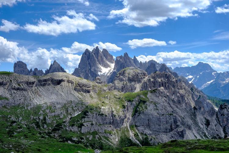 The Dolomites,