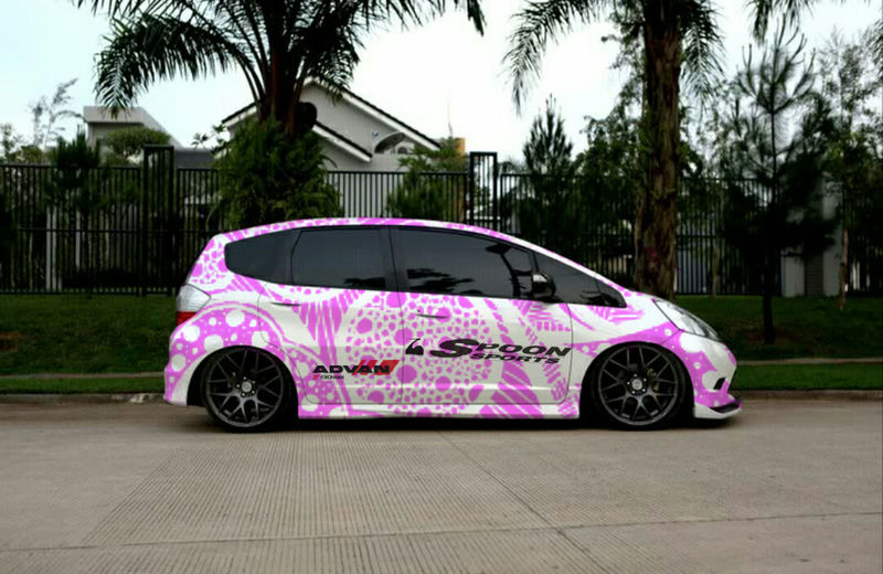 Honda Fit Jdmworks Photoshop