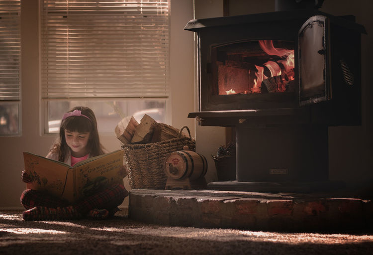 #Child #FirePlace #Kid #Winter #children Photography #home #kid Playing #kid Reading